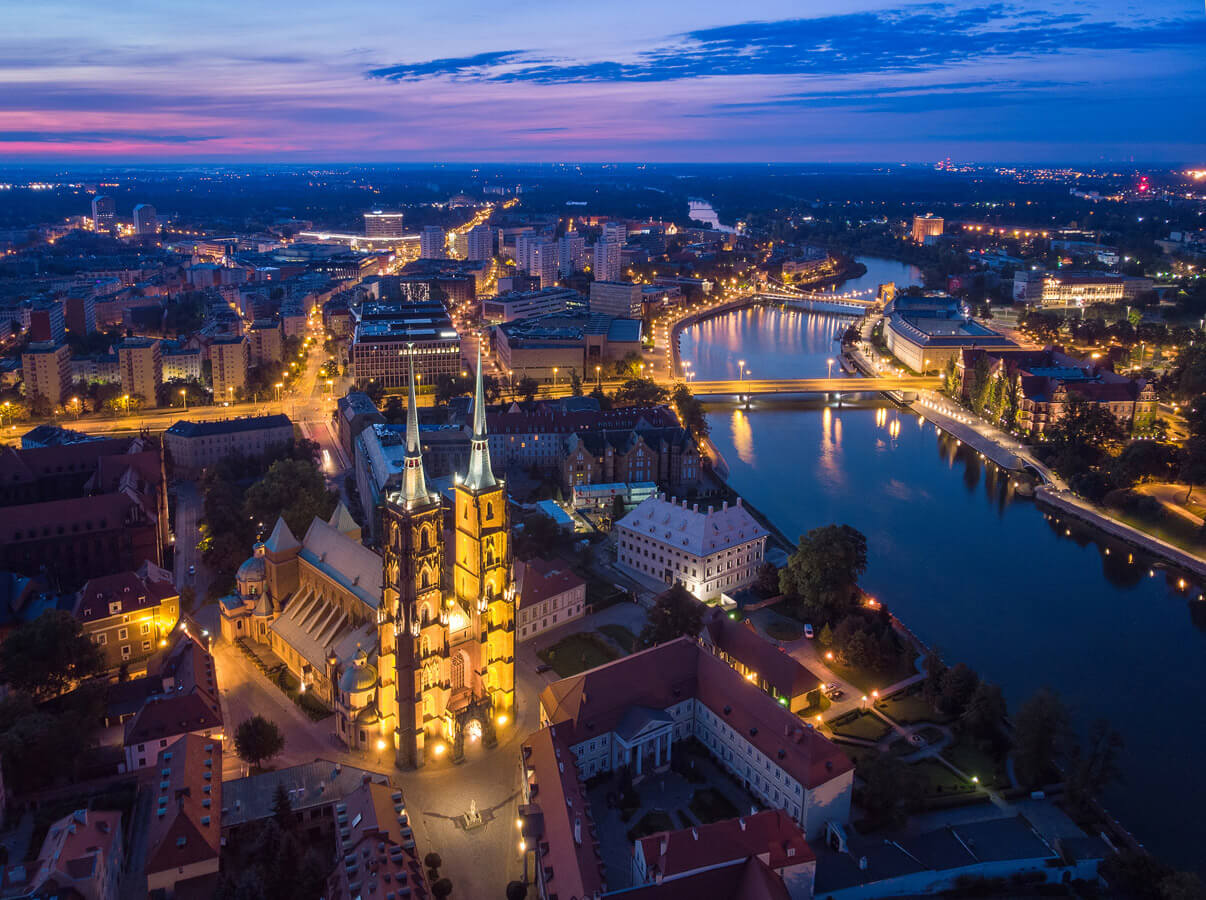 Famous Islands Of Wroclaw – Catheral And Sand Islands